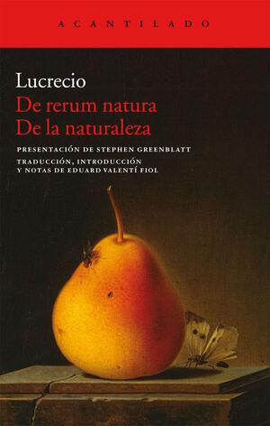 De rerum natura. De la naturaleza