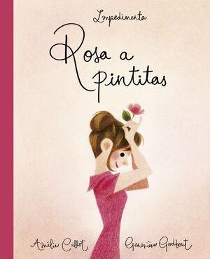 Rosa a pintitas