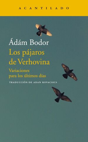 Los pájaros de Verhovina
