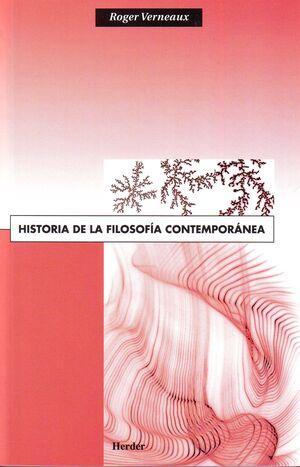 Historia de la filosofía contemporánea