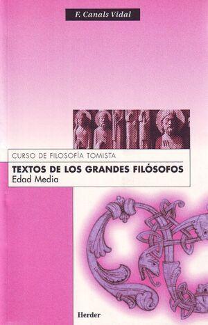 Textos de los grandes filósofos. Edad Media