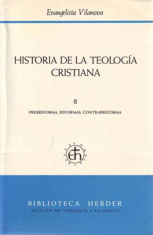 Historia de la teología cristiana