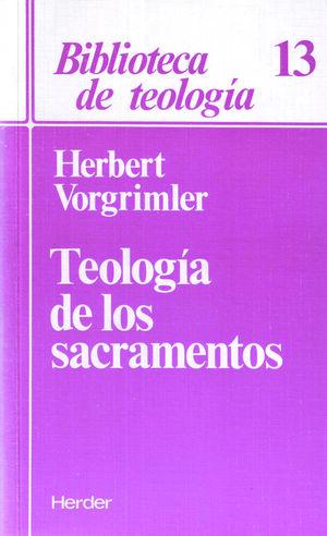 Teología de los sacramentos