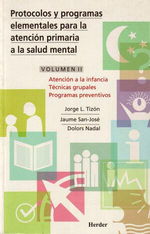 Atención a la infancia, técnica grupales programas preventivos