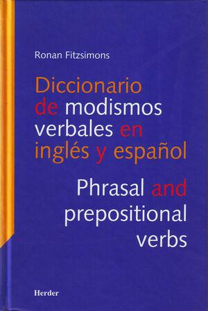Diccionario de modismos verbales en inglés y en español