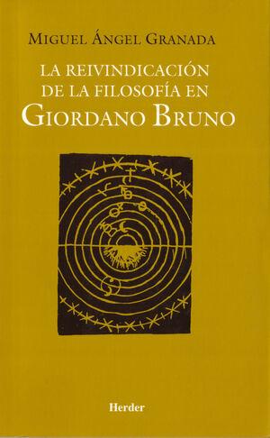 La reivindicación de la filosofía en Giordano Bruno