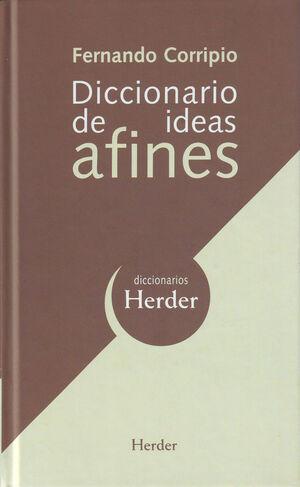 Diccionario de ideas afines