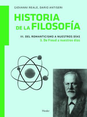 Historia de la filosofía III. Del Romanticismo a nuestros días 3. De Freud a nue