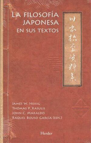 La filosofía japonesa en sus textos