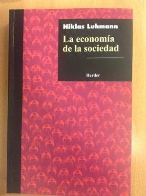 La economía de la sociedad