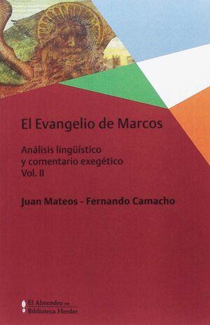 EVANGELIO DE MARCOS, EL VOL. II