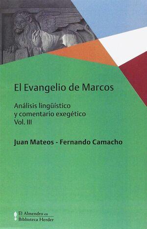 EVANGELIO DE MARCOS, EL VOL. III