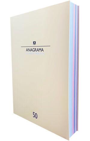Catálogo Anagrama 50 años 1969-2019