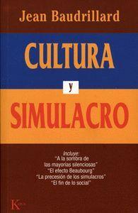 Cultura y simulacro