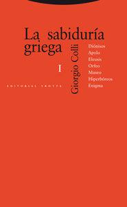 La sabiduría griega I