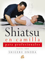 Shiatsu en camilla para profesionales