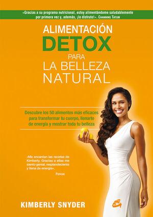 Alimentación detox para la belleza natural