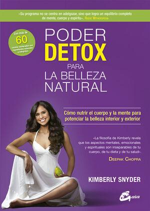 Poder detox para la belleza natural