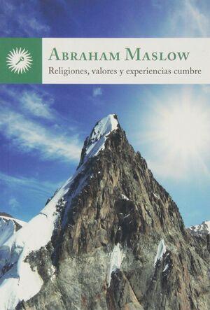 Religiones, valores y experiencias cumbre